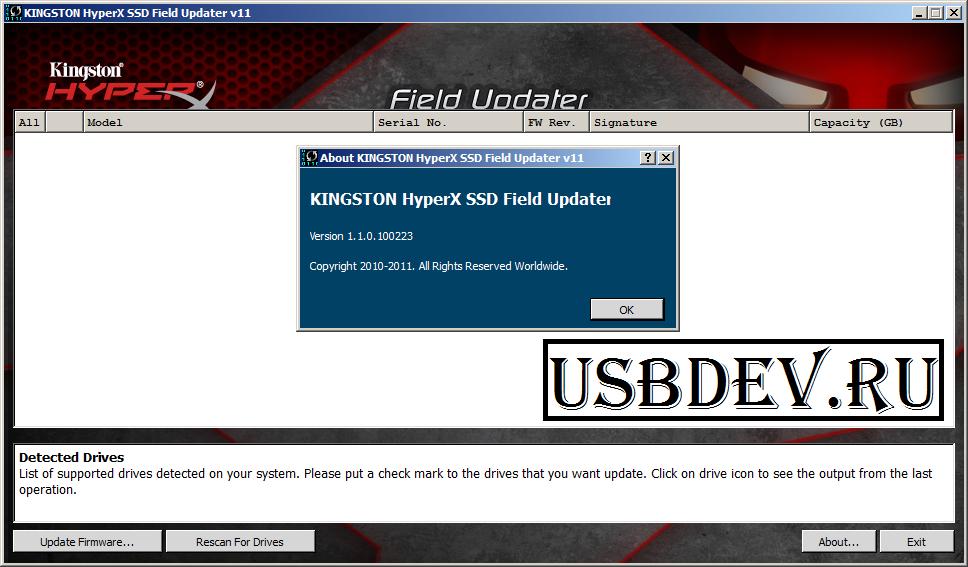 DRIVER UPDATE: KINGSTON SKC100S3B480G SSD